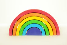 Load image into Gallery viewer, Rainbow Stacker for toddler - Educational Toys - Wood N Toys