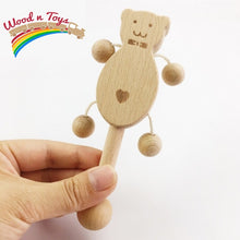 Load image into Gallery viewer, Wooden Baby set - Toddler toys - Wood N Toys