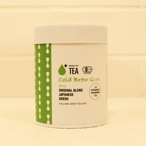 Organic Cold Brew G with Matcha / Japanese Sencha Green Tea