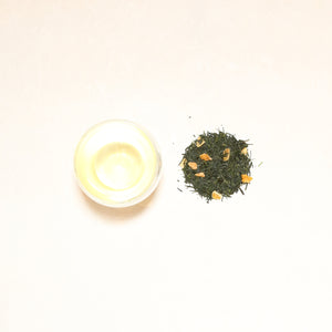 Refresh 001 / Japanese Sencha Green Tea with Yuzu