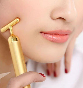 24k Gold T-Face Massager