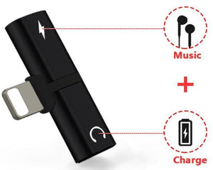 iPhone Dual Master Jack (2-in-1 Audio Charging Adapter)