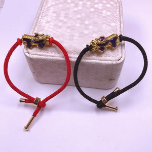 BUY 1 TAKE 1 | Limited Edition 24K Gold Piyao String Bracelet (Changing Color) + GET 2 Fortune Red String for FREE (LIMITED TIME OFFER ONLY)