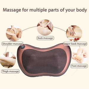 Ergonomic Pillow Massager