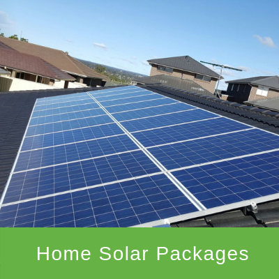 HOME SOLAR PACKAGES from $1999
