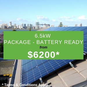 6.55KW Package, Battery Ready from