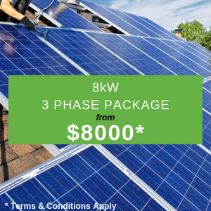 8 KW 3 Phase Package from