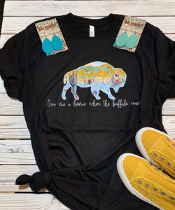 Where the buffalo roam tee