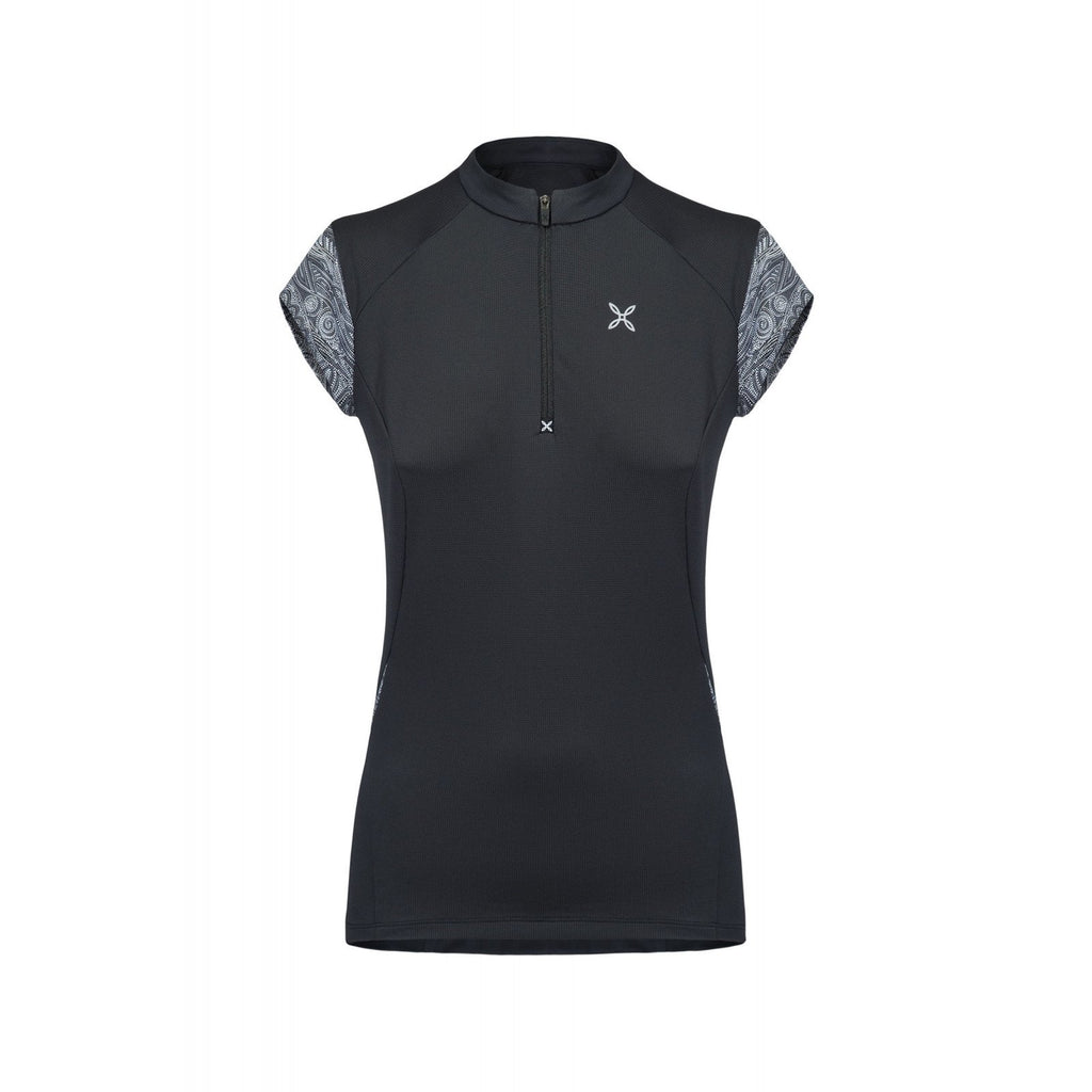 Montura, SPIRIT ZIP T-SHIRT WOMAN, Montura