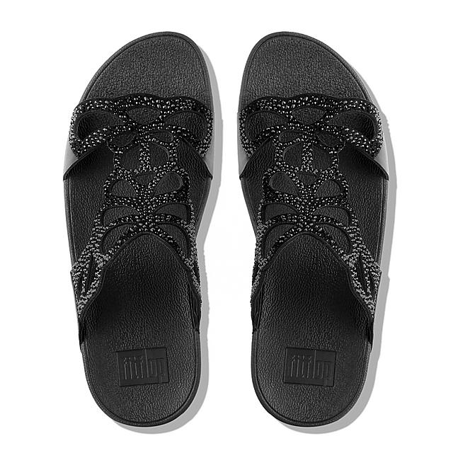 FitFlop, BUMBLE CRYSTAL SLIDE, FitFlop
