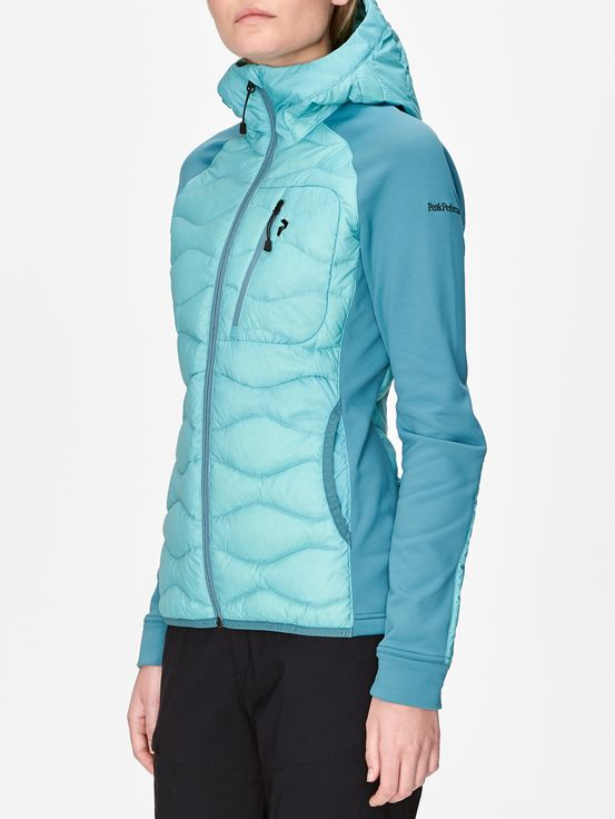 Peak Performance, WOMEN'S HELIUM HYBRID HOODED JACKET, Peak Performance