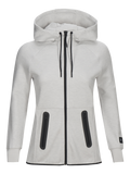 Peak Performance, WOMAN´S TECH COTTON BLEND ZIP UP HOODIE