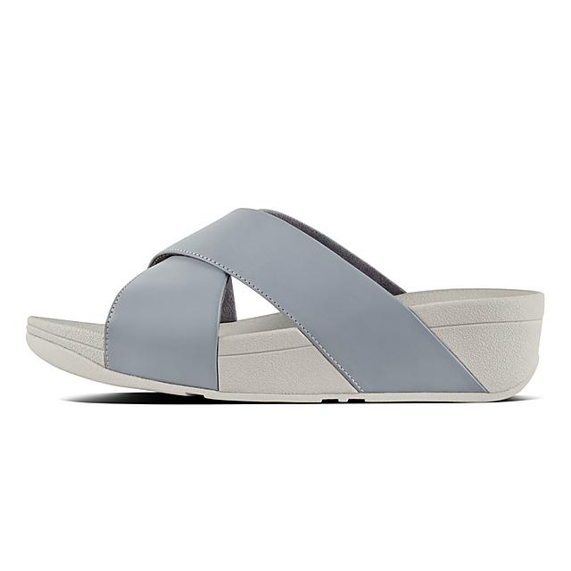 FitFlop, LULU Ciabattine incrociate in Pelle, FitFlop
