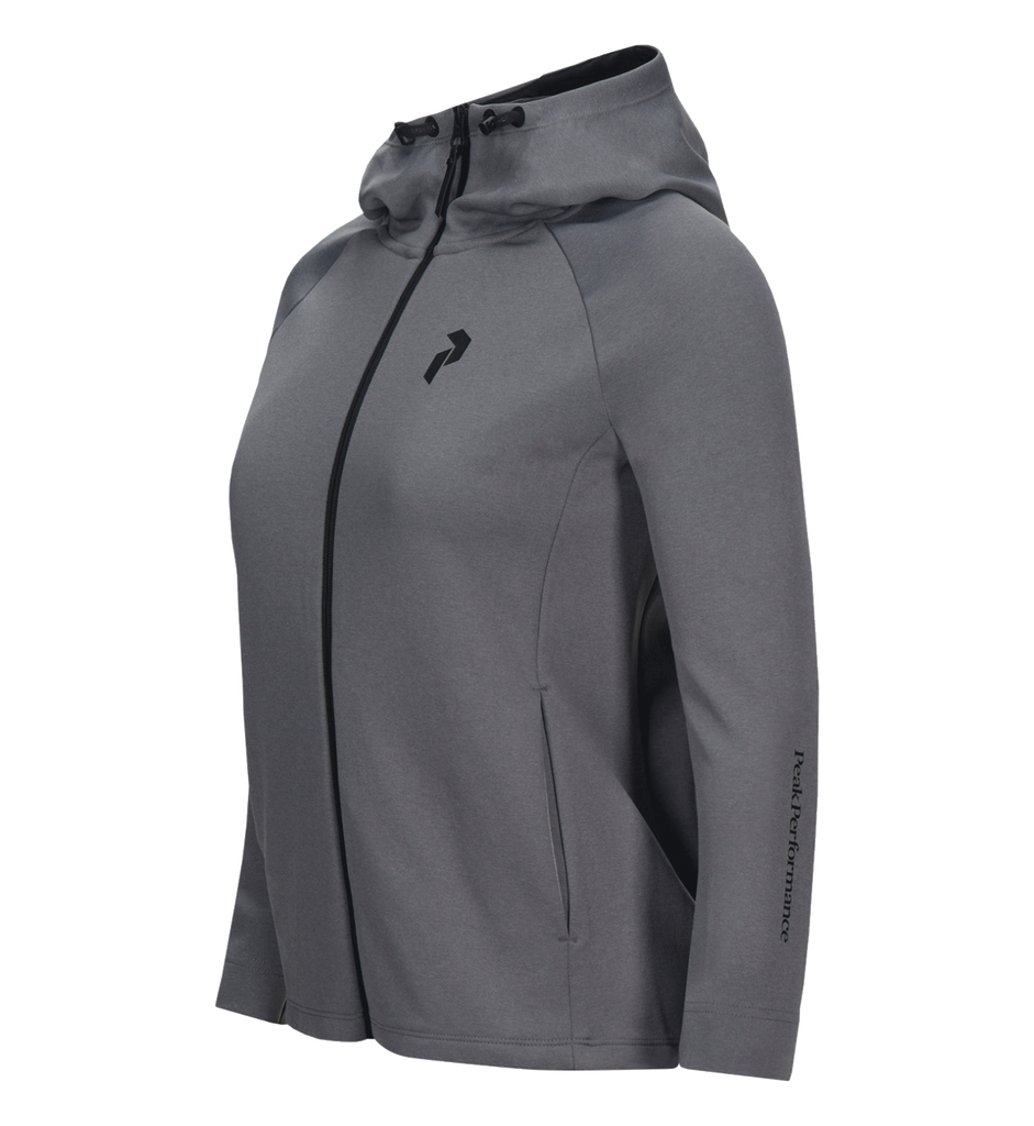 Peak Performance, PULSE HOOD ZIP UP W, Peak Performance