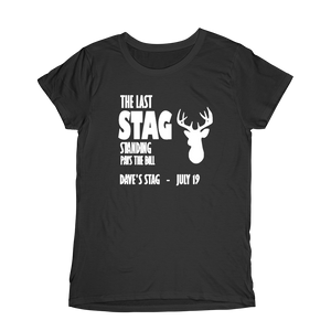 The Last Stag Standing Stag Do Design