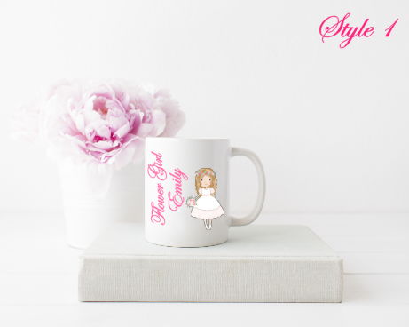 Flower Girl Mugs