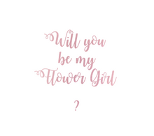 Load image into Gallery viewer, Will You Be My? Personalized Gift Box Pink