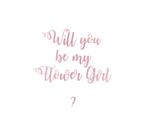 Will You Be My? Personalized Gift Box Pink