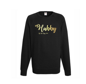 Personalized Hubby Sweatshirt