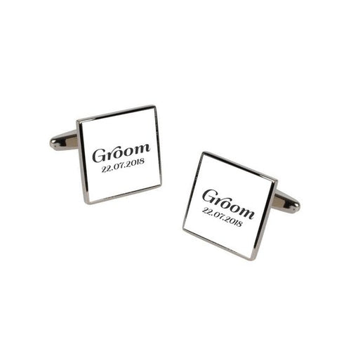 Personalised Role Cufflinks