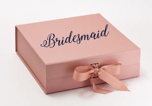 Will You Be My? Personalized Gift Box Rose Gold