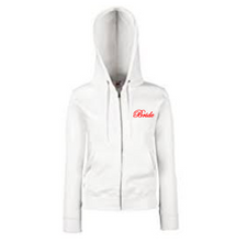 Load image into Gallery viewer, Personalised White Ladyfit Hoodie