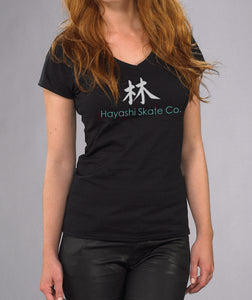 HSC WOMEN'S SILHOUETTE V-NECK T-SHIRT
