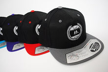 Load image into Gallery viewer, HSC Black Snapback Hat