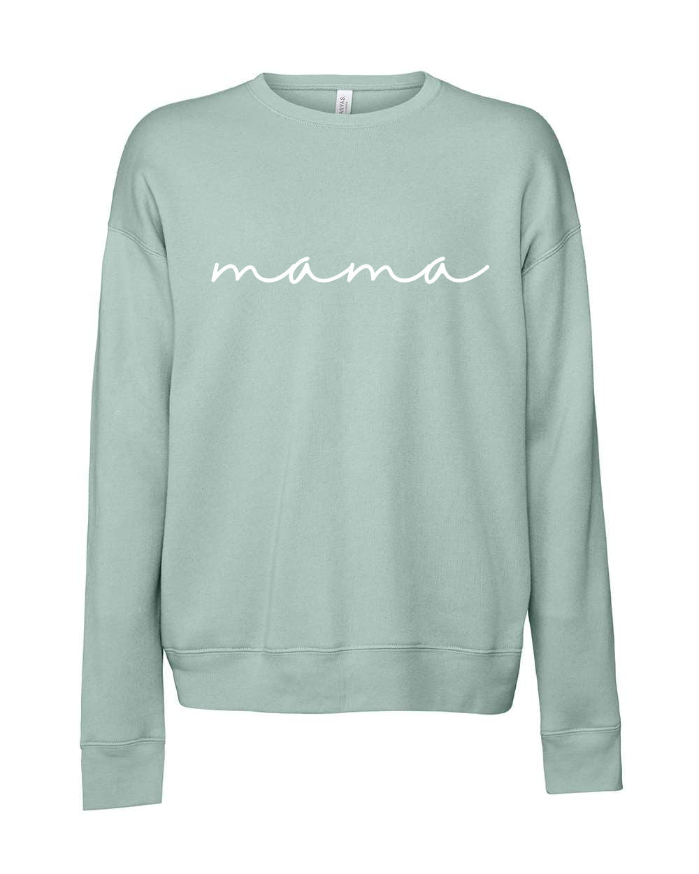 Mama Sweater (Dusty Blue)