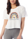 Women's Don't Worry Be Happy Crop Tee