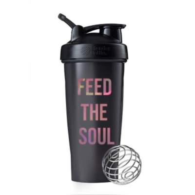 IfChics Feed the Soul Blender Bottle