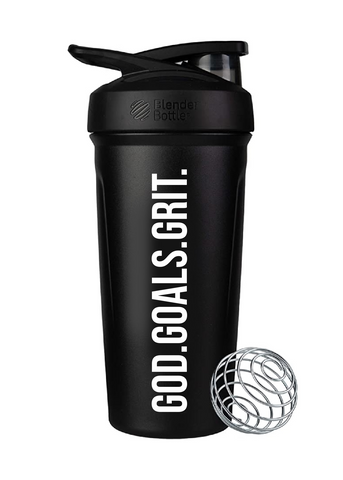 Blender Bottle Insulated Stainless God.Goals.Grit.