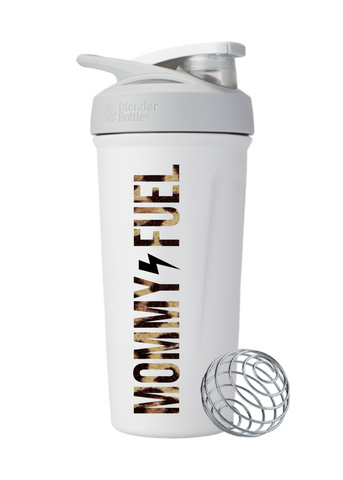 Blender Bottle Insulated Stainless Mommy Fuel