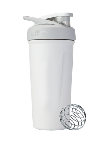 Blender Bottle Insulated Stainless- CUSTOM WHITE