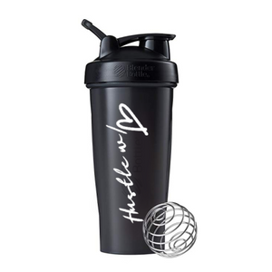 Hustle w/ Heart Classic Blender Bottle