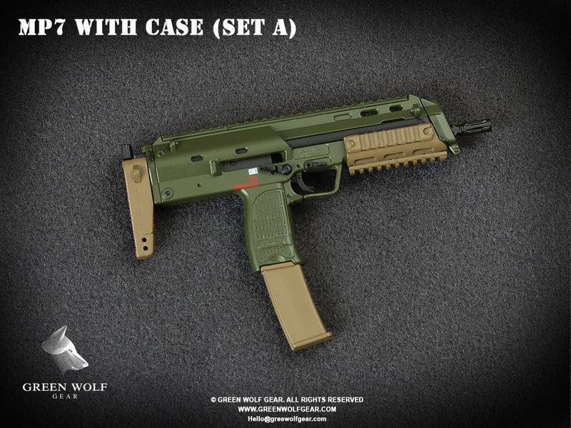 H&K MP7 PDW With Case (A)
