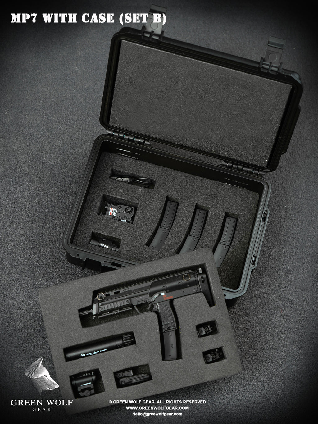 H&K MP7 PDW With Case (B)