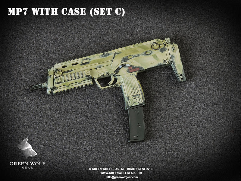 H&K MP7 PDW With Case (C)