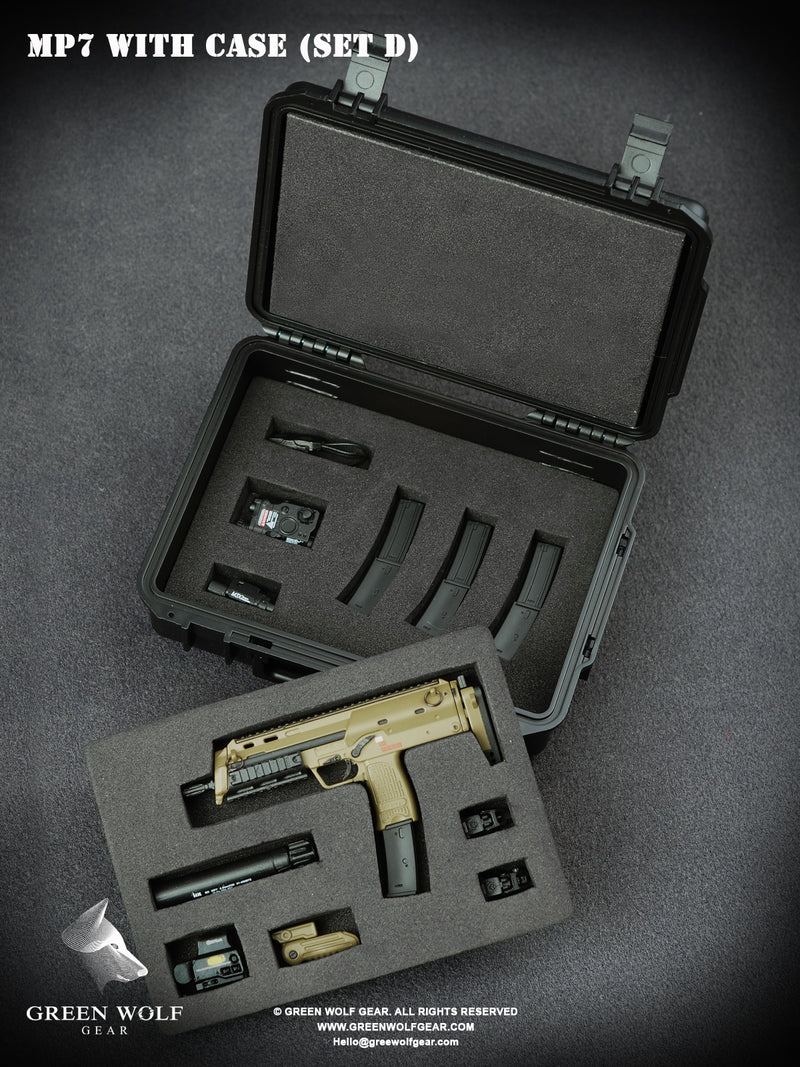 H&K MP7 PDW With Case (D)