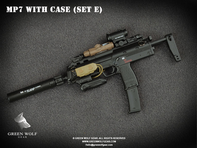 H&K MP7 PDW With Case (E)