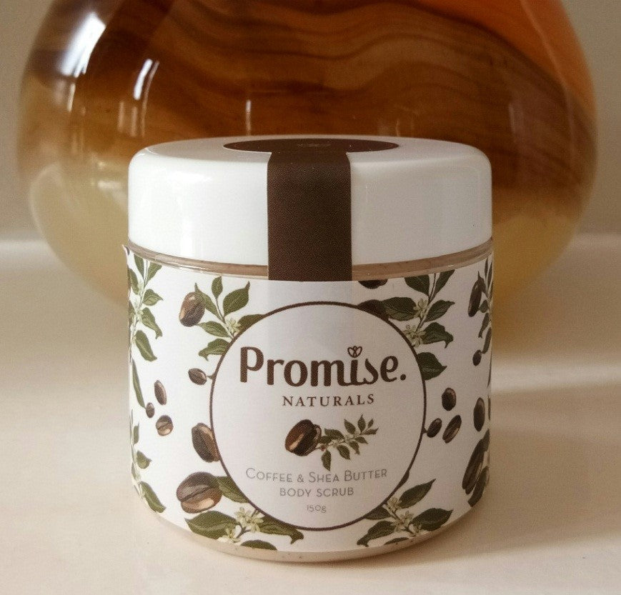 Promise - Coffee and Shea Butter Body Scrub