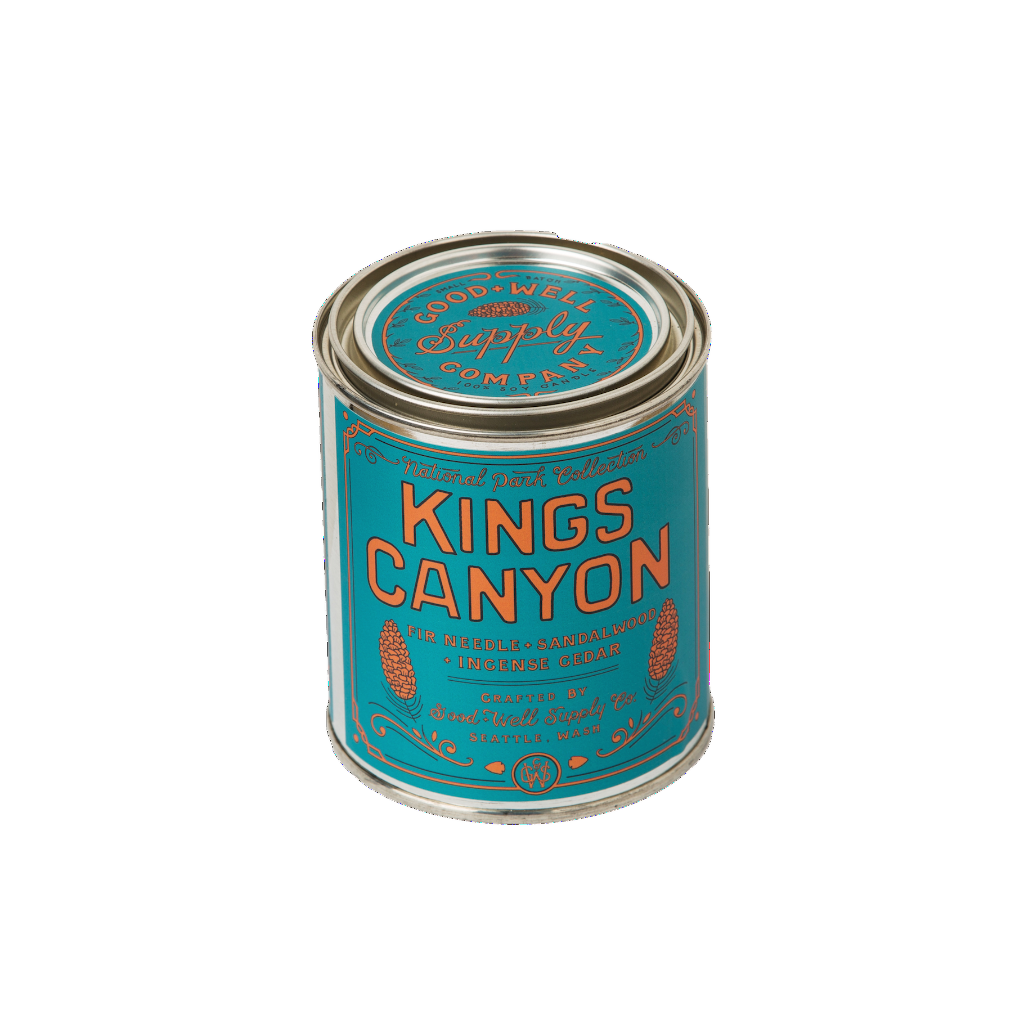 Kings Canyon Candle - Fir, Sandalwood & Incense Cedar