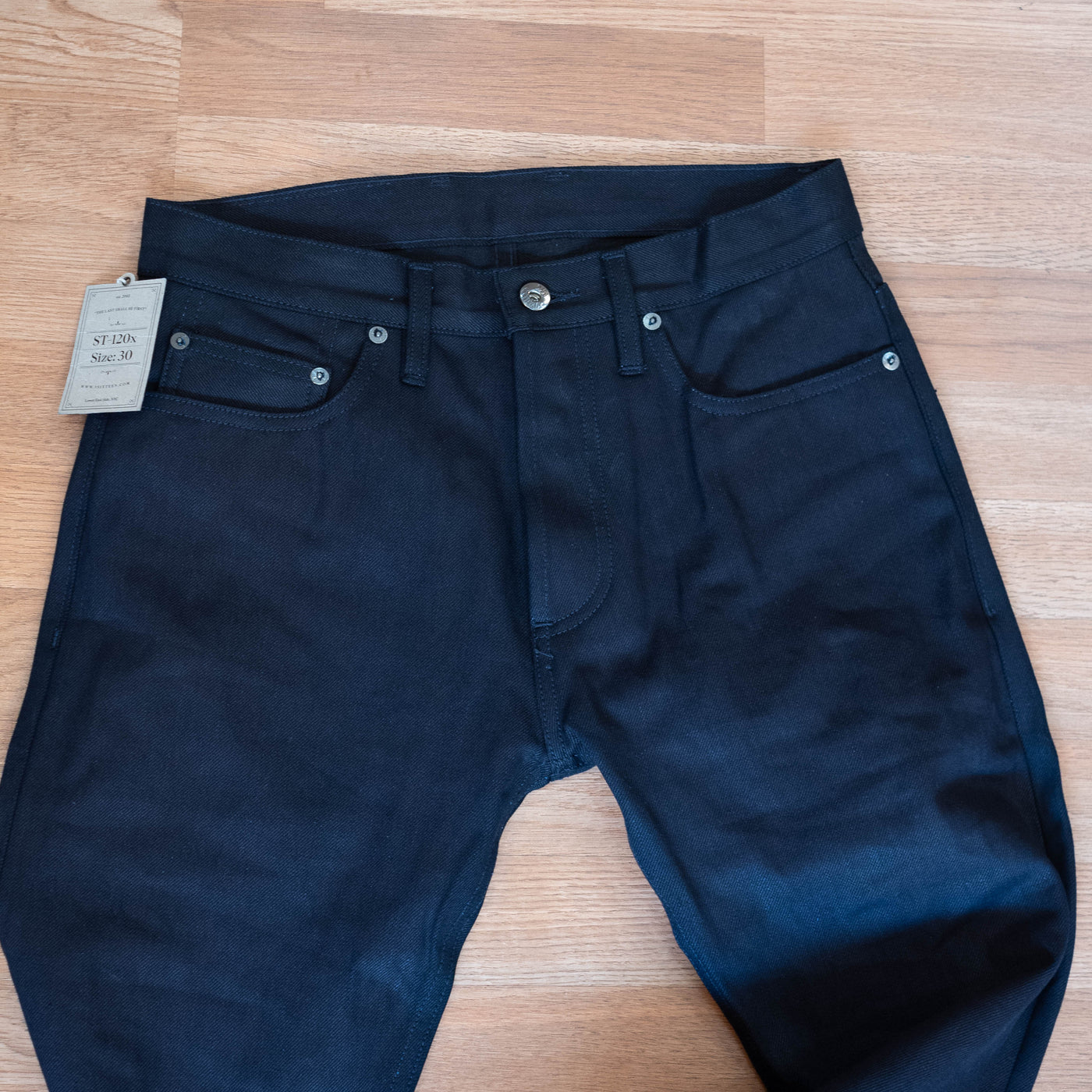 ST-120x - Slim Tapered Shadow Selvedge