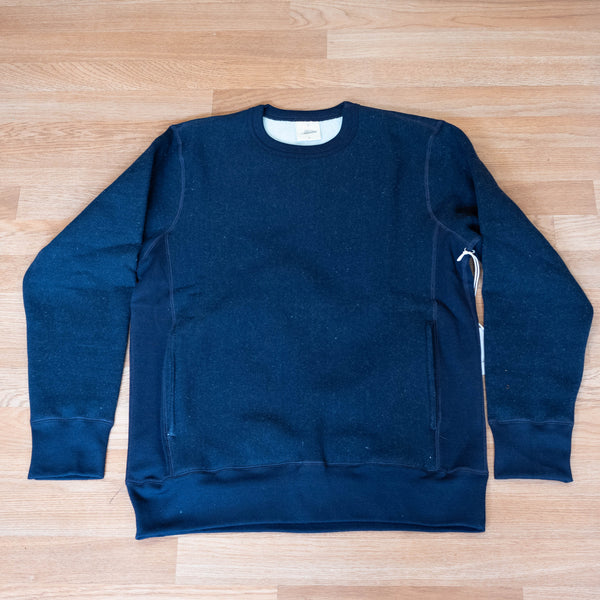 Heavy Weight Crew Sweatshirt  - Indigo