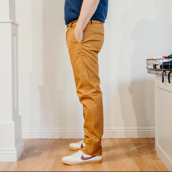 Rivet Chino - 10oz Duck Canvas Caramel