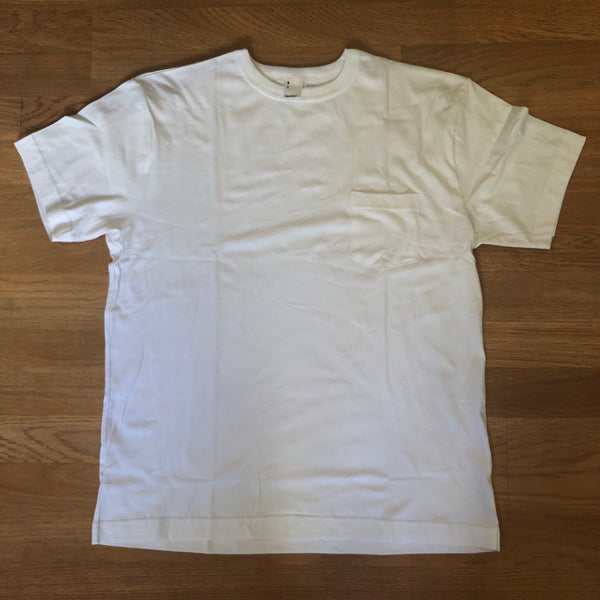 Pima Pocket Tee - White - Short Sleeve