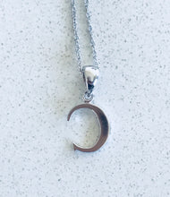 Load image into Gallery viewer, Initial Letter C White Gold & Diamond pendant