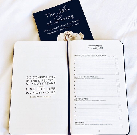 Productivity Planner - Love Yours Box Self-Care Subscription