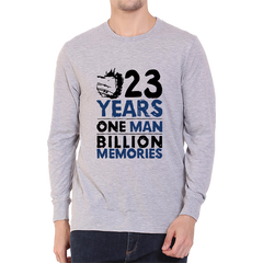 23_Year_One_Man_Billion_Memories_Full_Sleeve-Grey