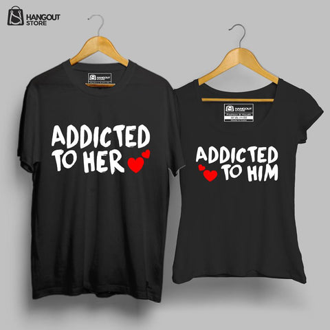 Addicted to love - Half sleeve Black